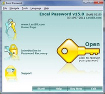 A tool to recover lost passwords to the Excel files.