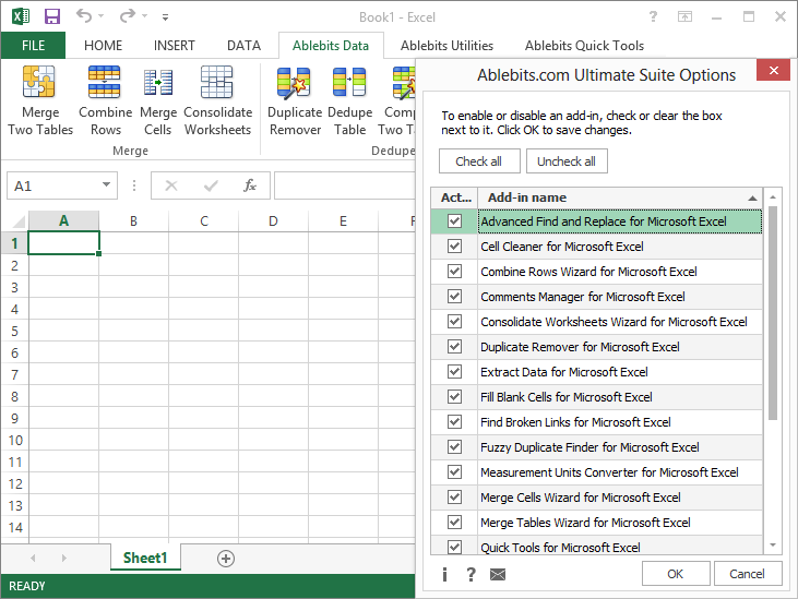 advanced spreadsheet software manual pdf